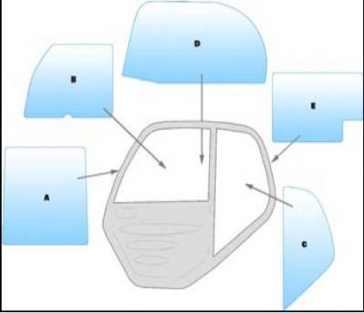 Equipment window / windscreen equipment Manitou MT932 - MLT629 - MLT633 - MLT730 - MT732