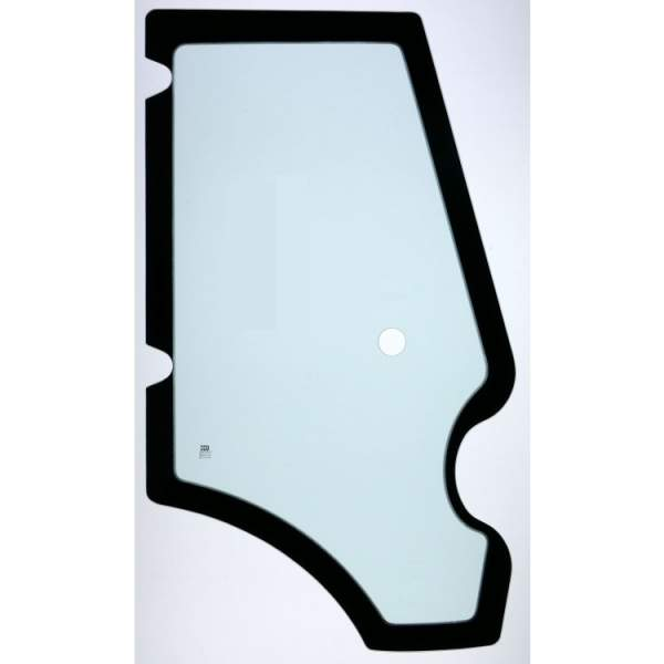 Right door glass JCB 3CX (year 2002-2015)